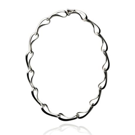 georg jensen smycke halssmycke i silver 3532802 infinity necklace hos.  JARLSANDIN c3b1af695f71e