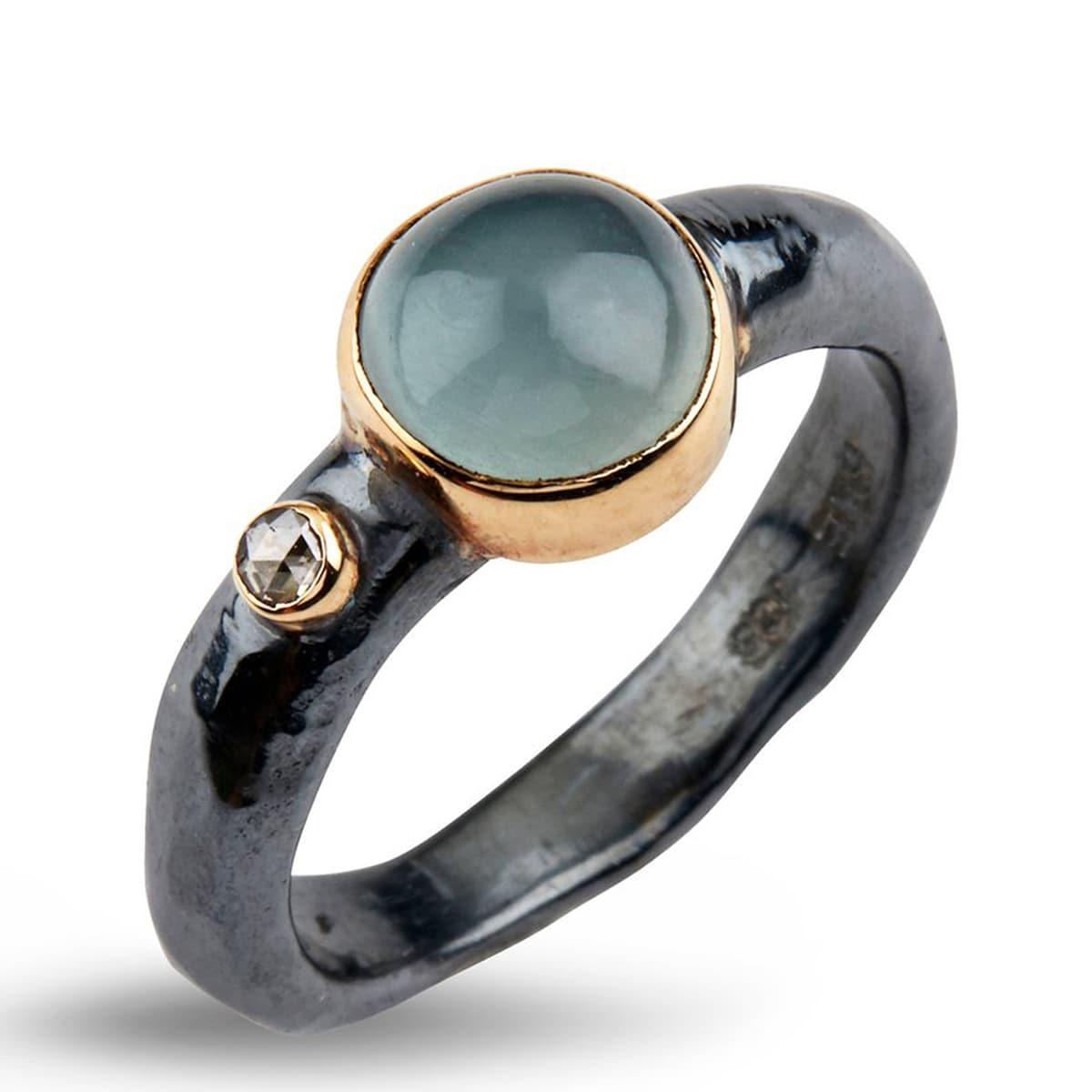 50110204A_Ring_Antique_Aqua_ByBirdie_jarl_sandin
