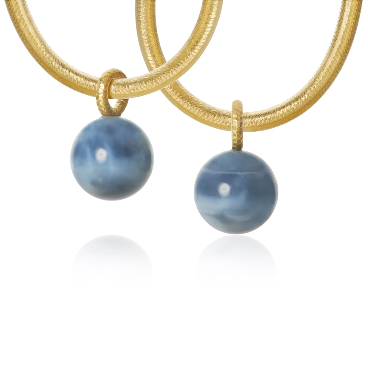 Globe vidhäng blå opal
