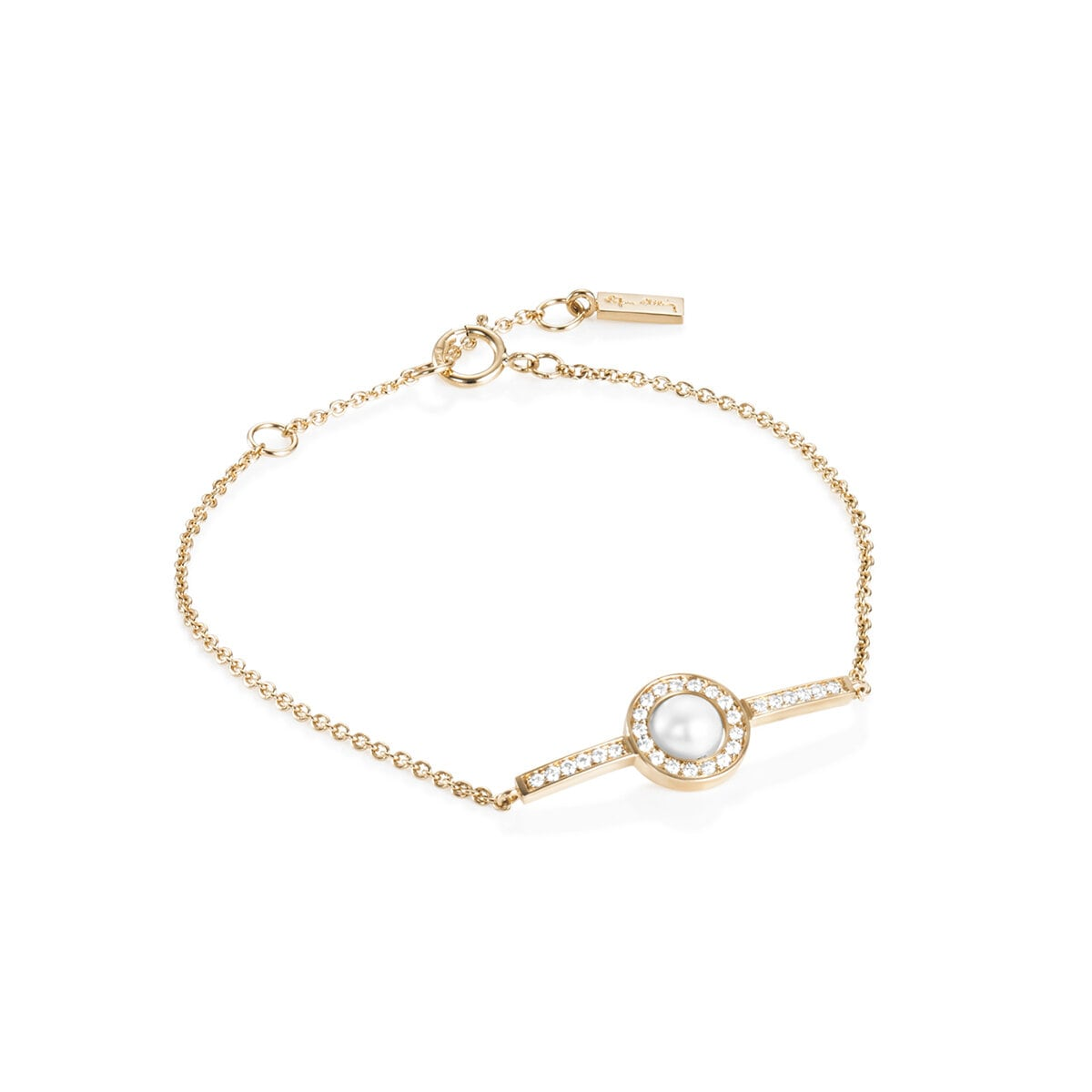 "Day Pearl & Stars ""Little"" Bracelet"