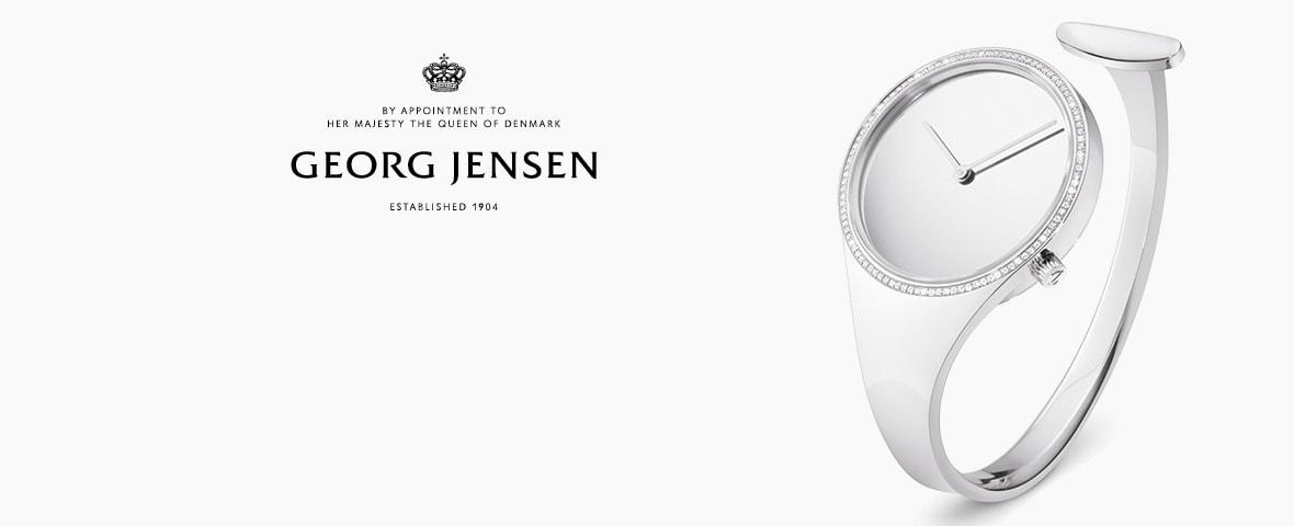 Georg Jensens unika kollektion klockor. Georg Jensen står för ren och  tidlös design – och den danska silversmedens skicklighet i att skapa det  eleganta och ... c794771716a88