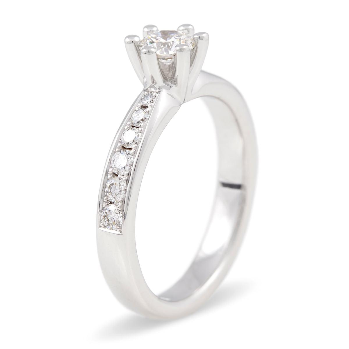 Sandin 1956 Diamantring Vigselring Glow Jarl Sandin b703b3b7f83ef