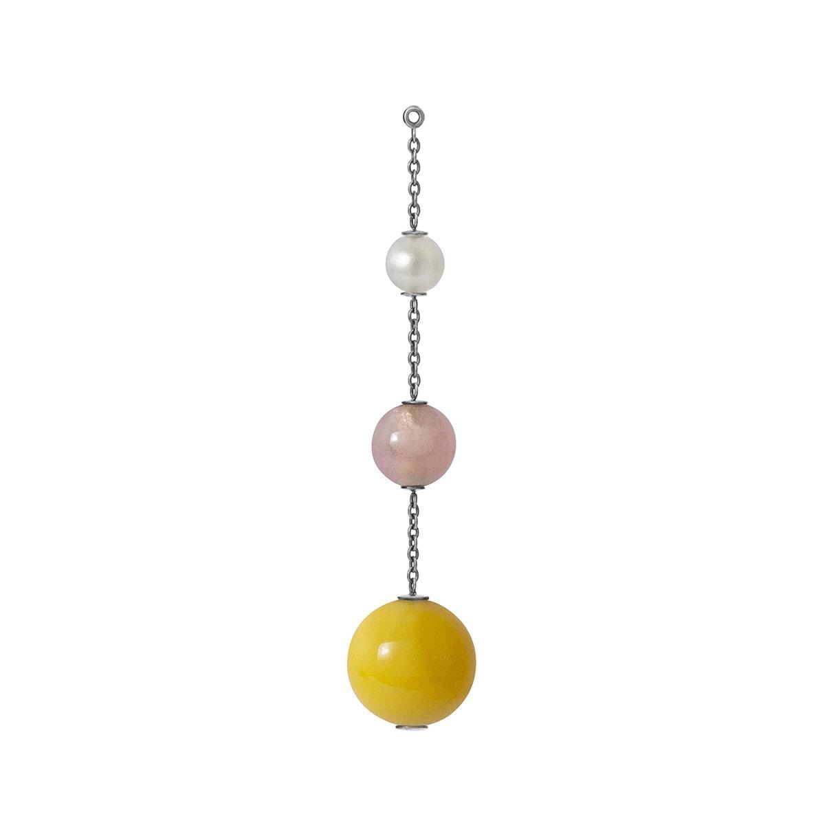 Lotus pendant for earring
