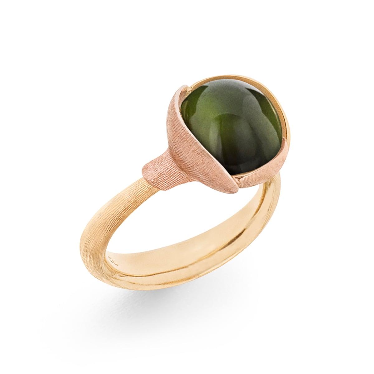 Ole_Lynggaard_Lotus_Ring 2_Green Tourmaline_A2651-412_V2_hos_Jarl_Sandin