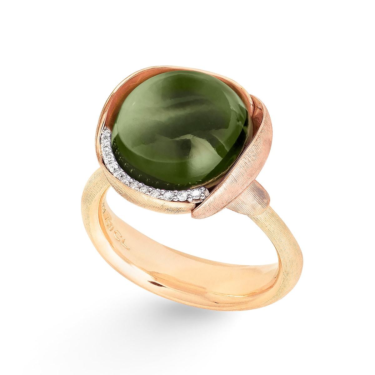 Ole_Lynggaard_Lotus_Ring 3_Green Tourmaline_A2652-412_V3_hos_Jarl_Sandin