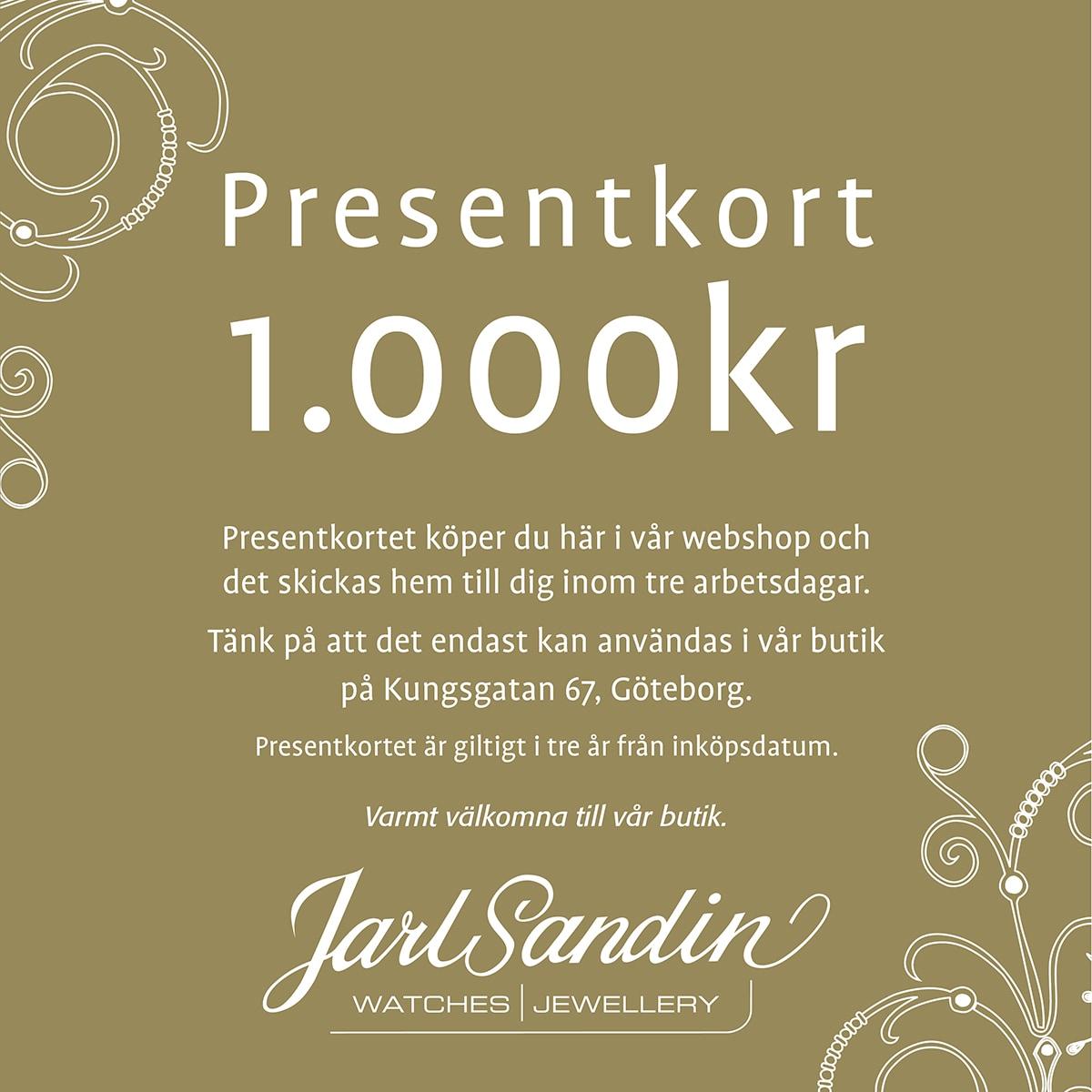 Presentkort_Jarl_Sandin_ 1000kr