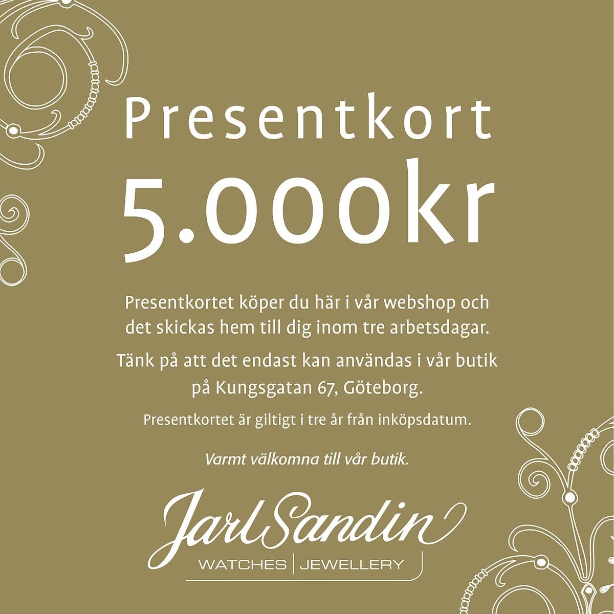 Presentkort_Jarl_Sandin_ 5000kr