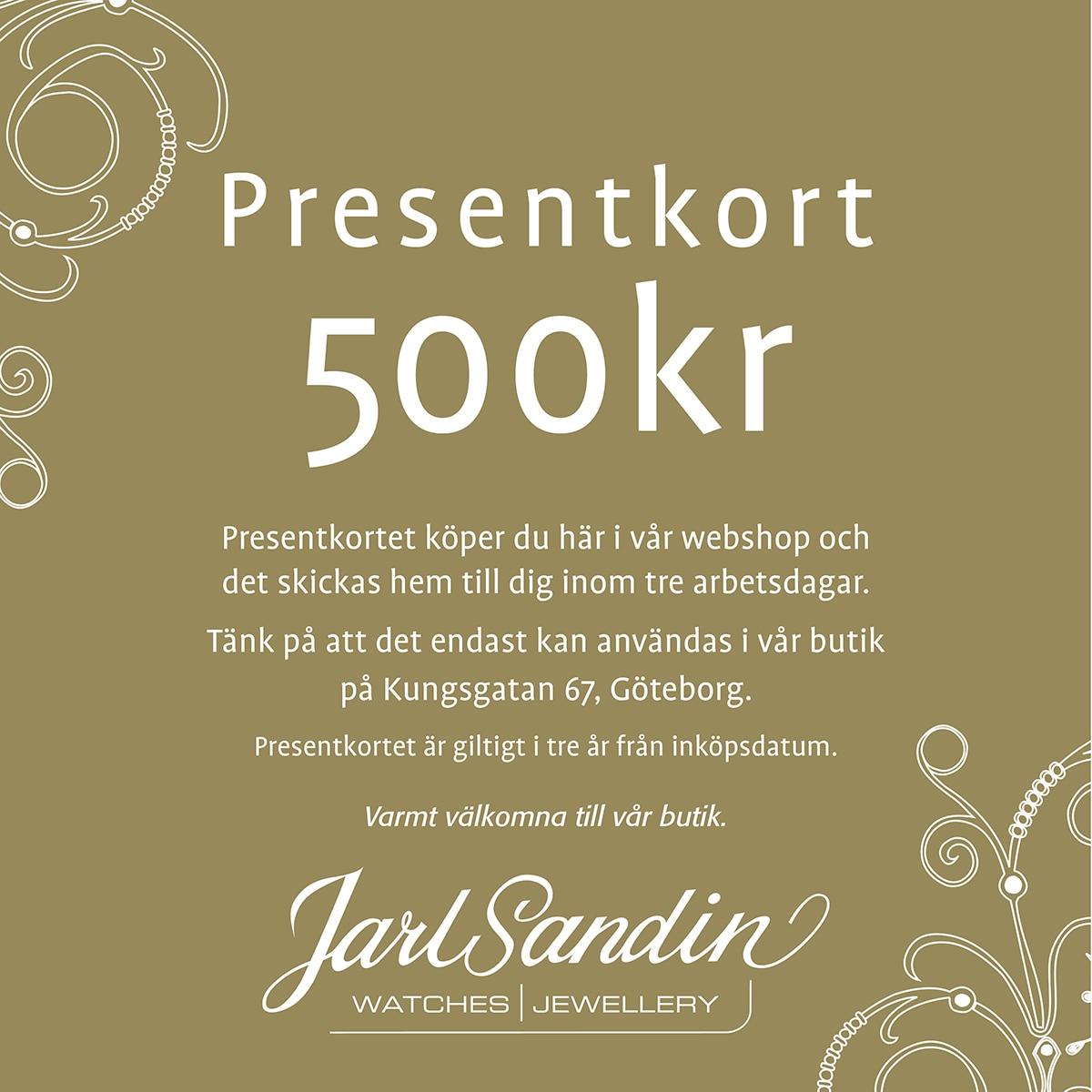 Presentkort_Jarl_Sandin_ 500kr