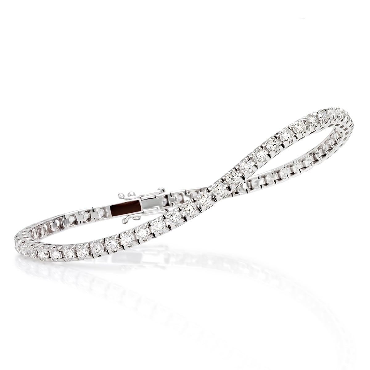 Tennisarmband med diamanter 3,30ct.