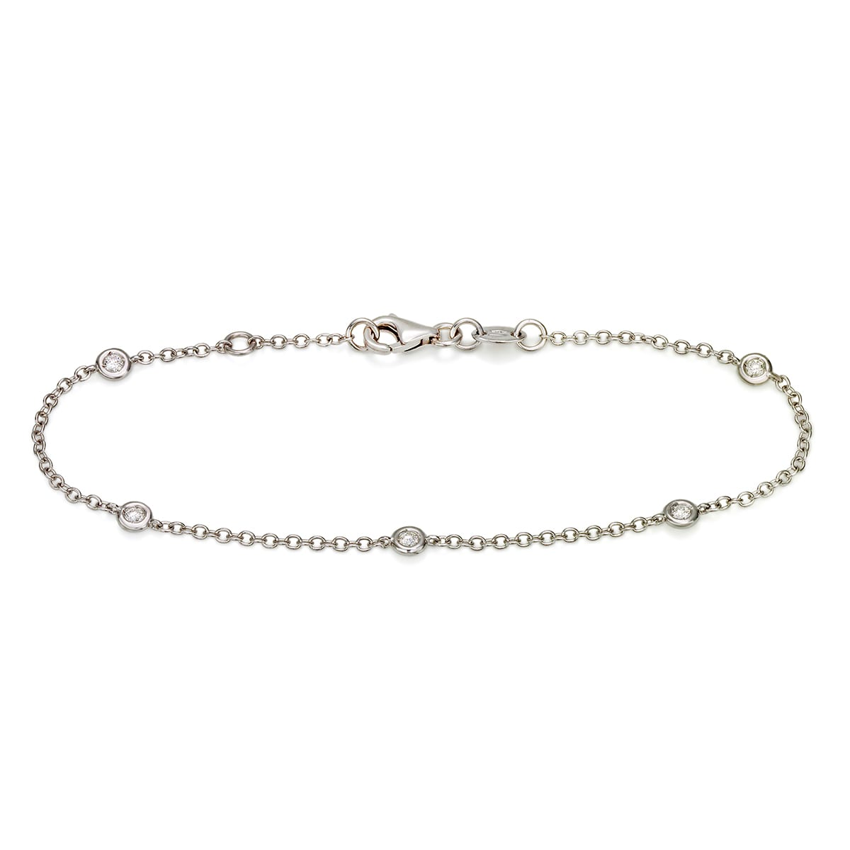 Zefiro - diamantarmband 16/17cm