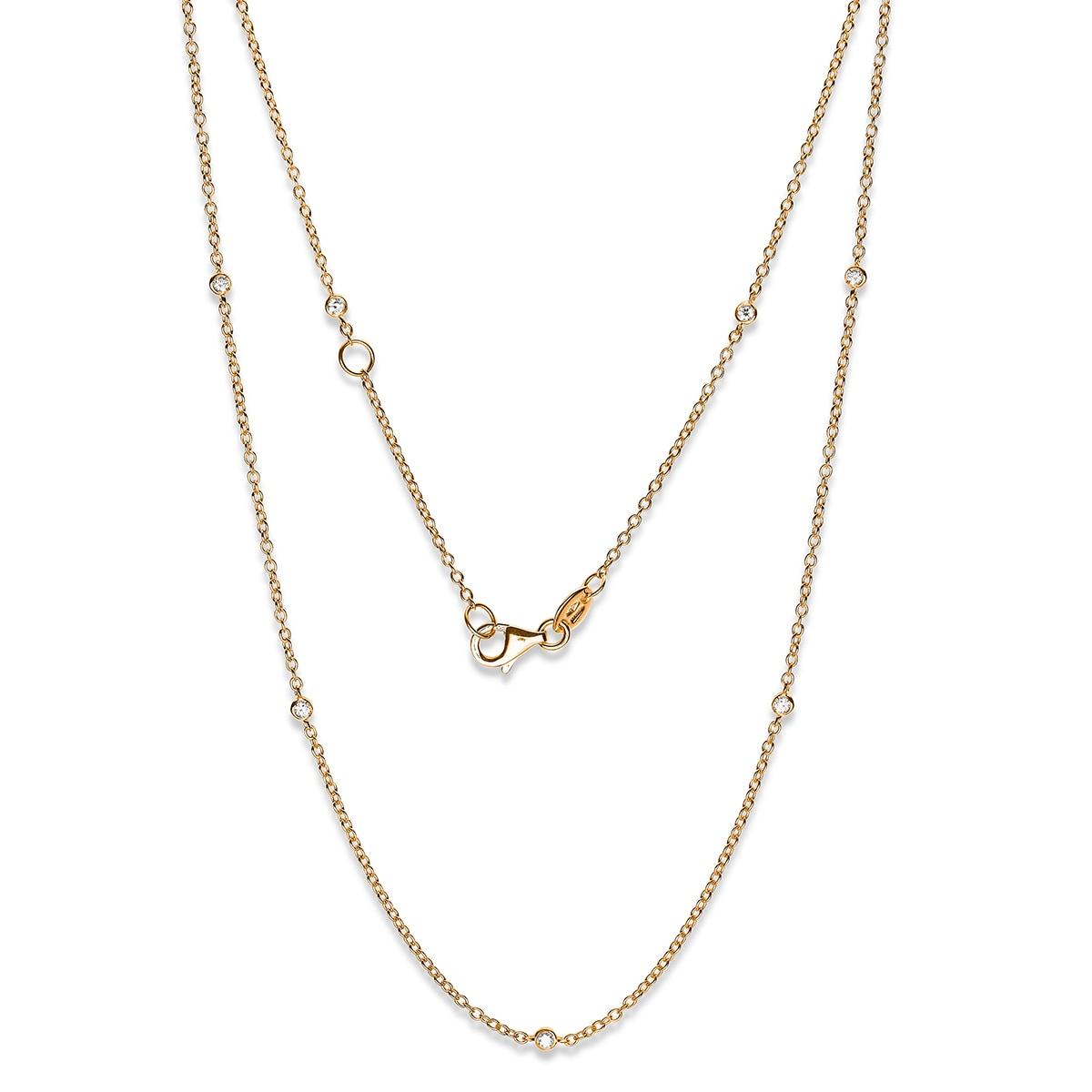 Zefiro - diamanthalsband