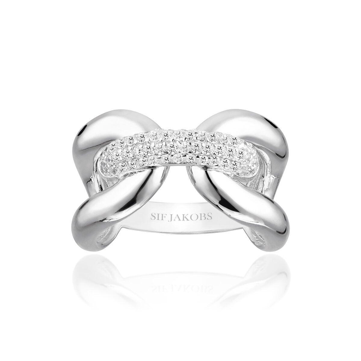 Ring Capri Tre Silver