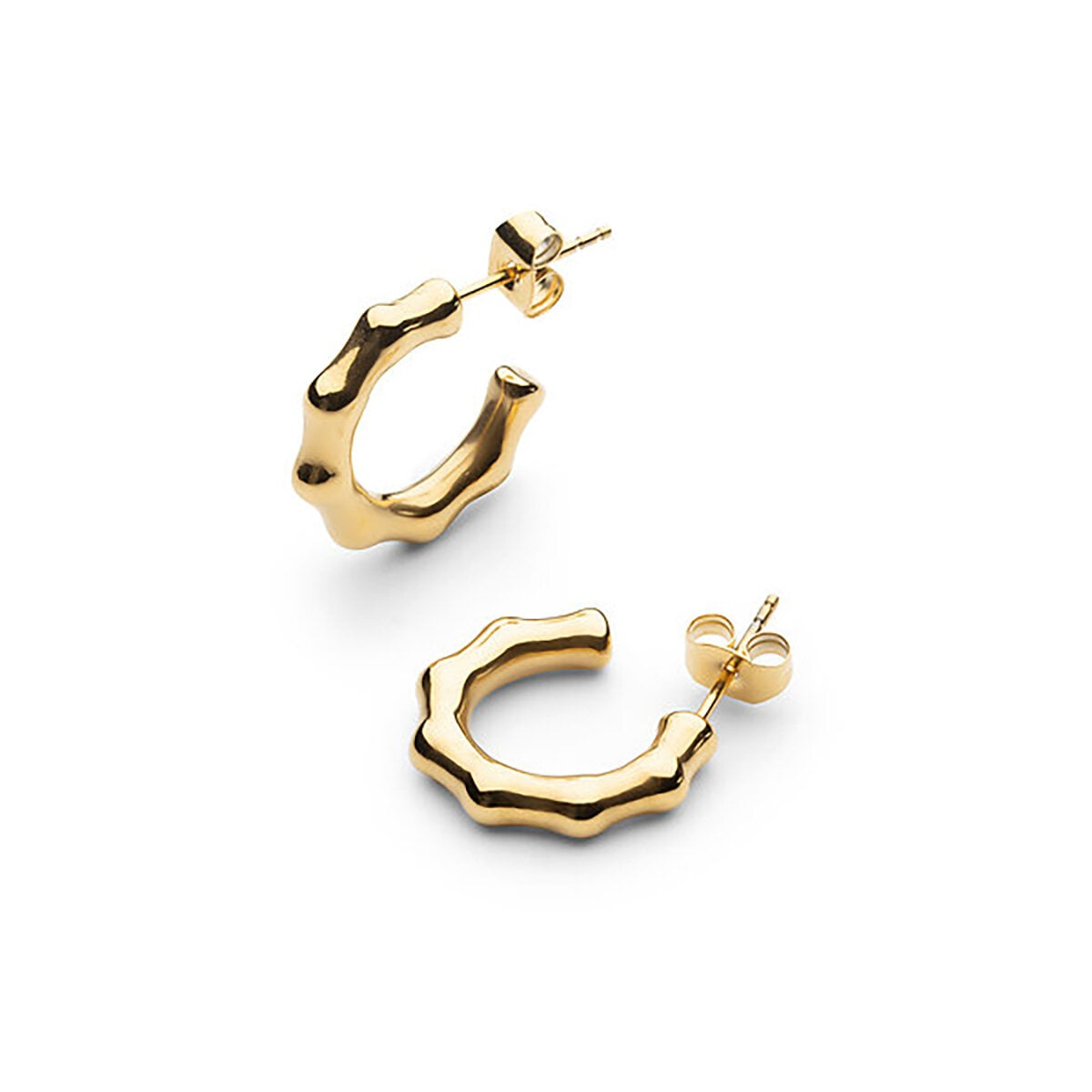 Bambou Petit Earring - Gold Plated