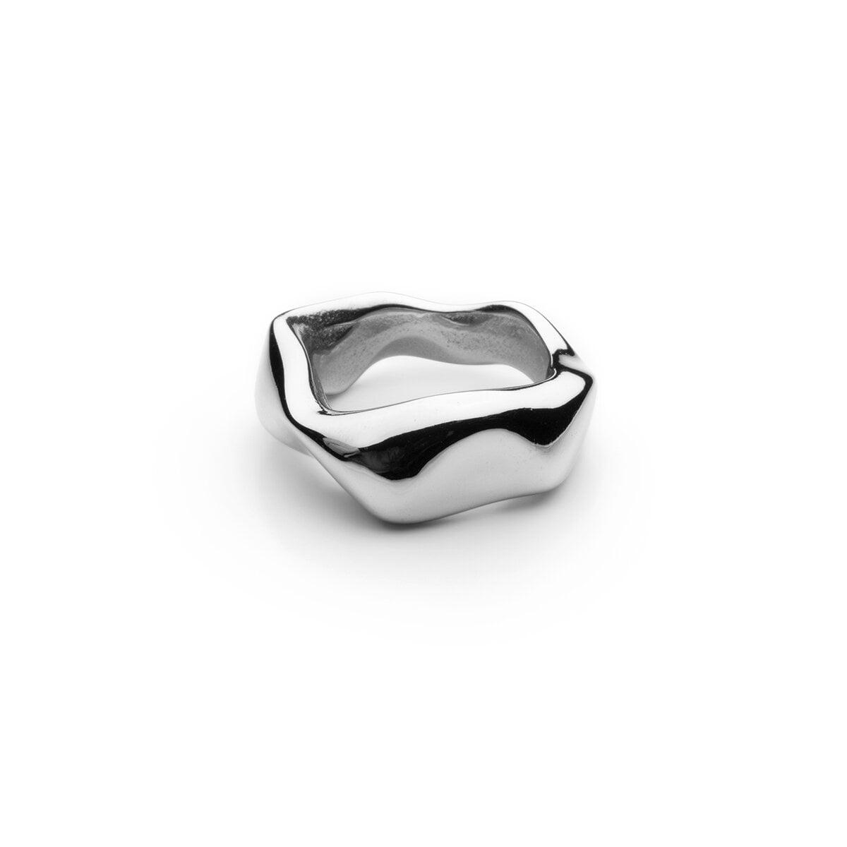 Chunky Petit Ring - Polished Steel