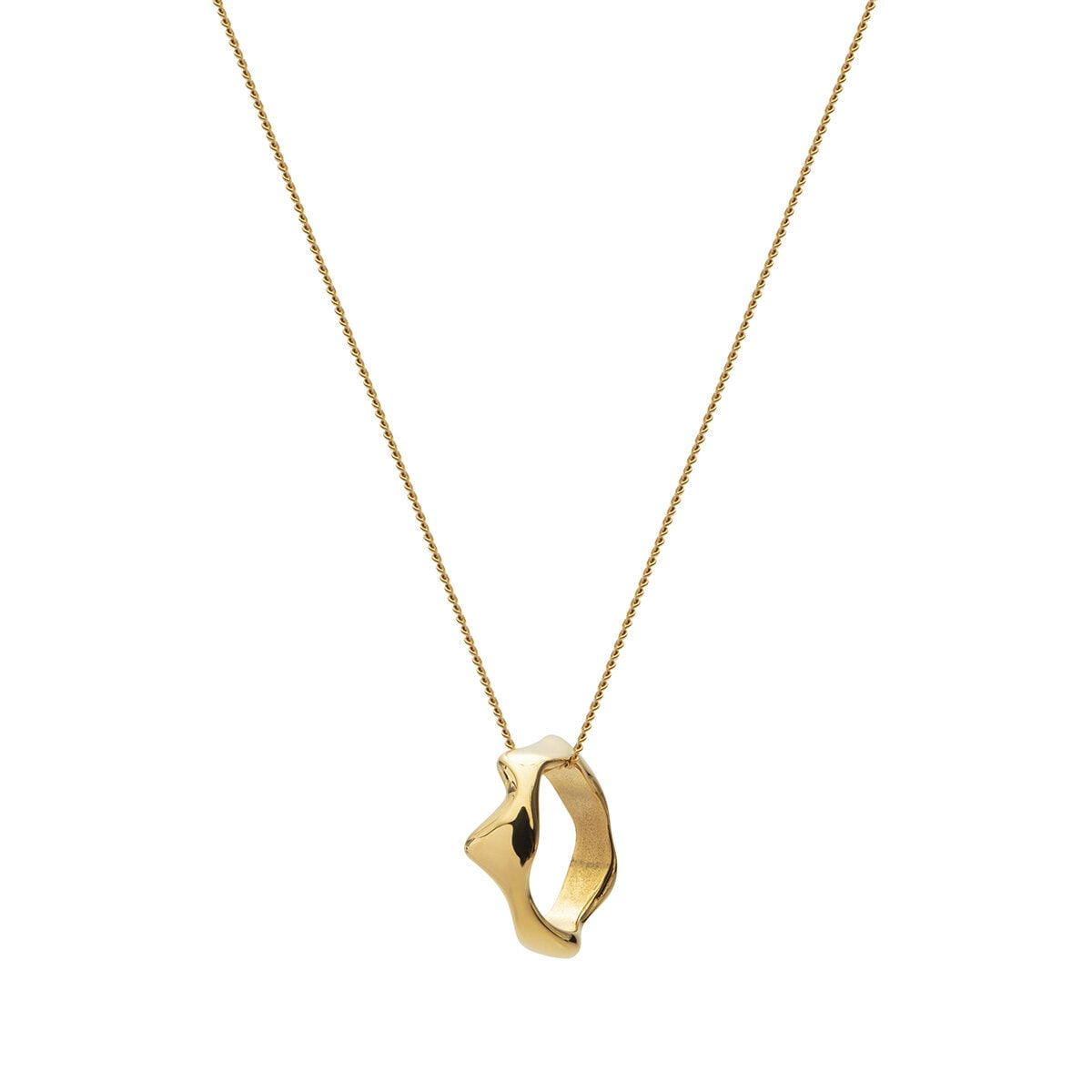 Chunky Necklace - Gold Plated