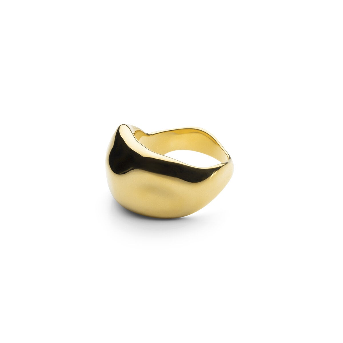 Chunky Ring - Gold Plated