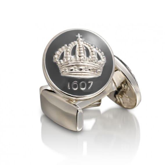 Skultuna 1607 Manschettknappar Guld eller silver pläterad mässing ... 3d2e7e3b8ef9e