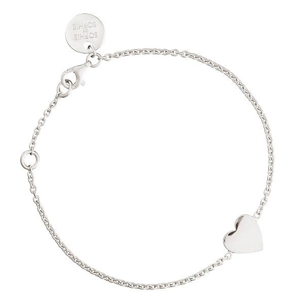 Symbol Heart Bracelet Silver