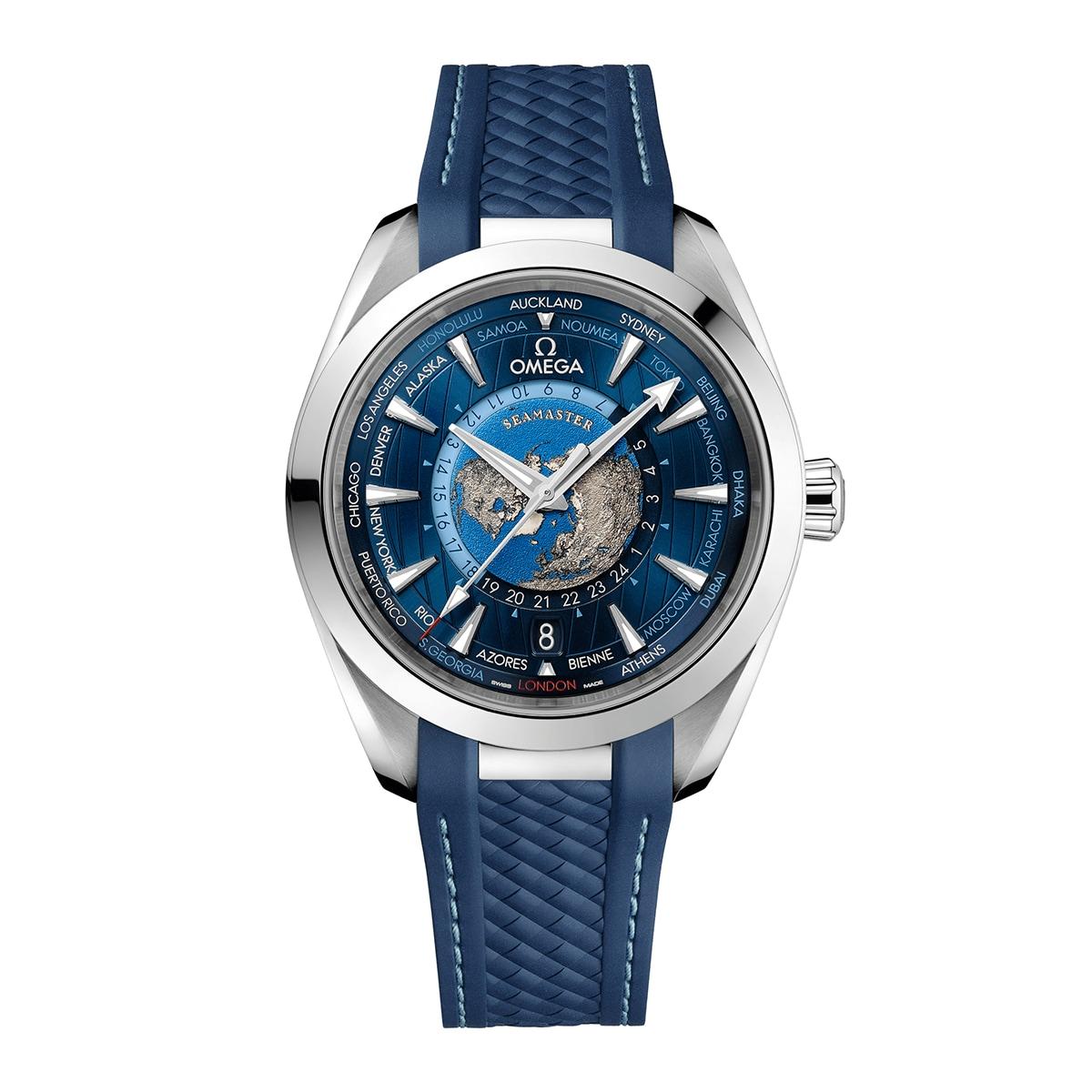 Seamaster Aqua Terra GMT Worldtimer